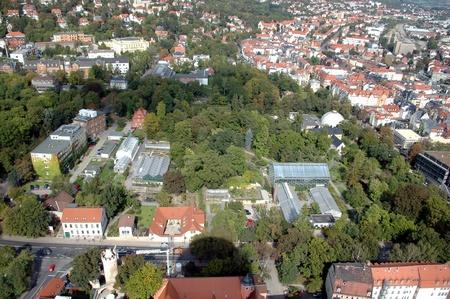 Geschichte Botanischer Garten Jena